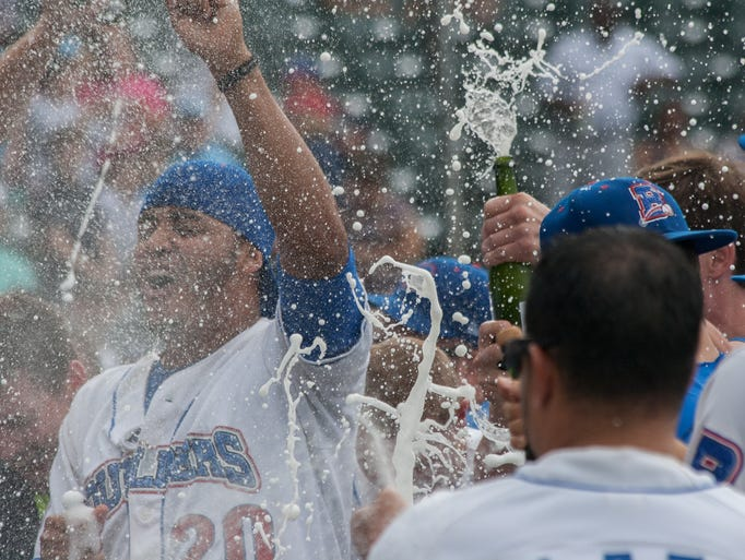 The Rockland Boulders won the Can-Am League Pennant after defeating the New Jersey Jackels at Provident Bank Park in Ramapo, NY on September 1, 2014