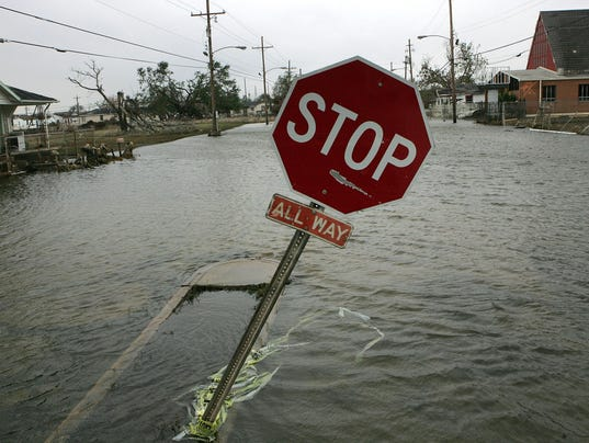 New Orleans Feels Effects Of Hurricane Rita
