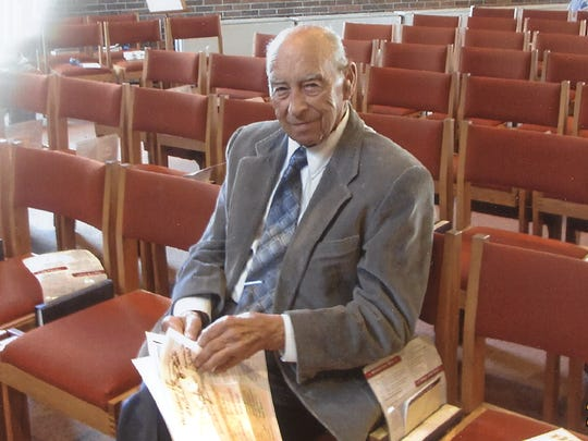 Norman Rude was a 55-year member of Main Street Baptist