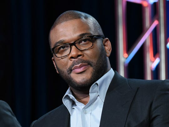 "FILE - In this Jan. 15, 2016 file photo, Tyler Perry participates in a panel for ""The Passion"" at the Fox Winter TCA in Pasadena, Calif. Perry is producing a drama about a woman involved in a political sex scandal, the first scripted series that will air on the TLC network. TLC said Wednesday, March 30, that the eight-episode series, tentatively titled ""Too Close to Home,"" will air this summer. (Photo by Richard Shotwell/Invision/AP, File) ORG XMIT: NYET307"