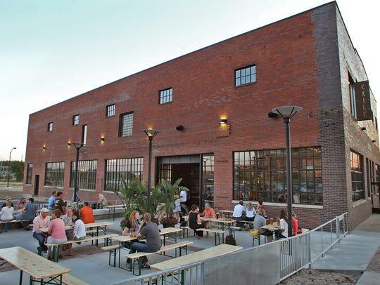 Enjoy Exile Brewing Company's patio before winter kicks