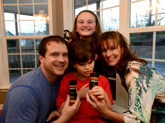 Eric and Val Harrell, along with their children Alissa,