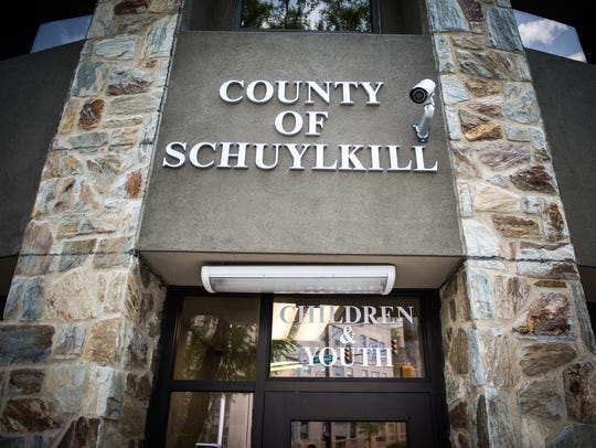 The Schuylkill County Children and Youth Building pictured