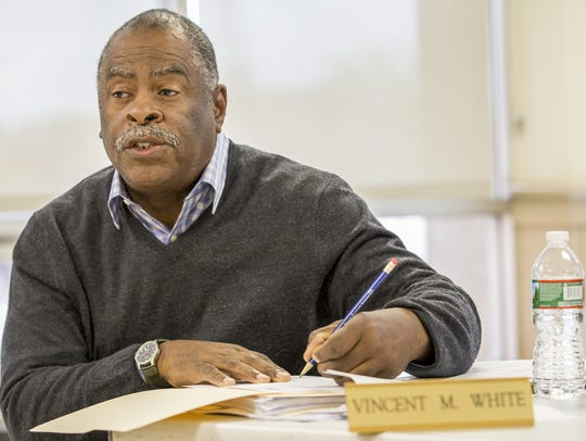 Vincent M. White, vice chairman of the Wilmington Housing