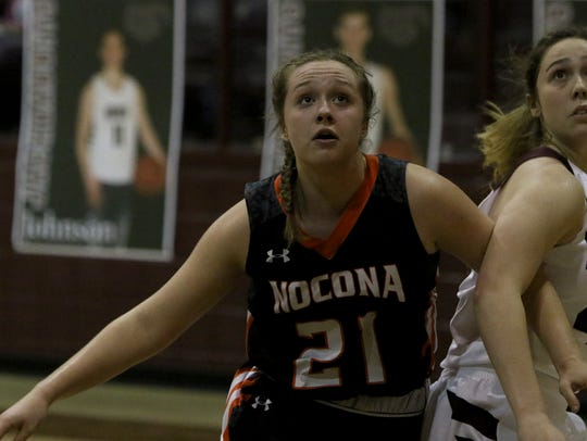 Nocona's Averee Kleinhans is coming off a break-out freshman season.