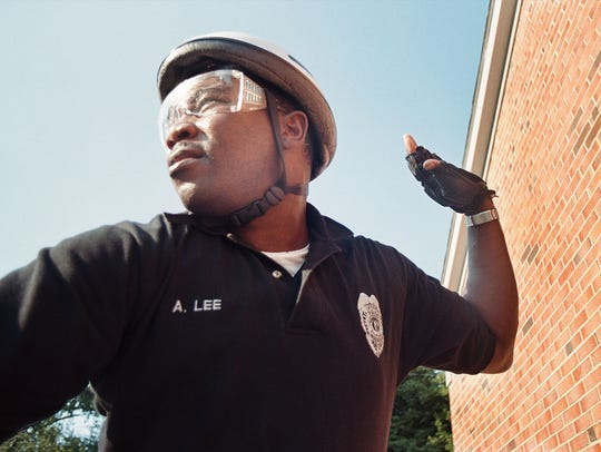 Henderson Police Department bicycle officer Alto Lee