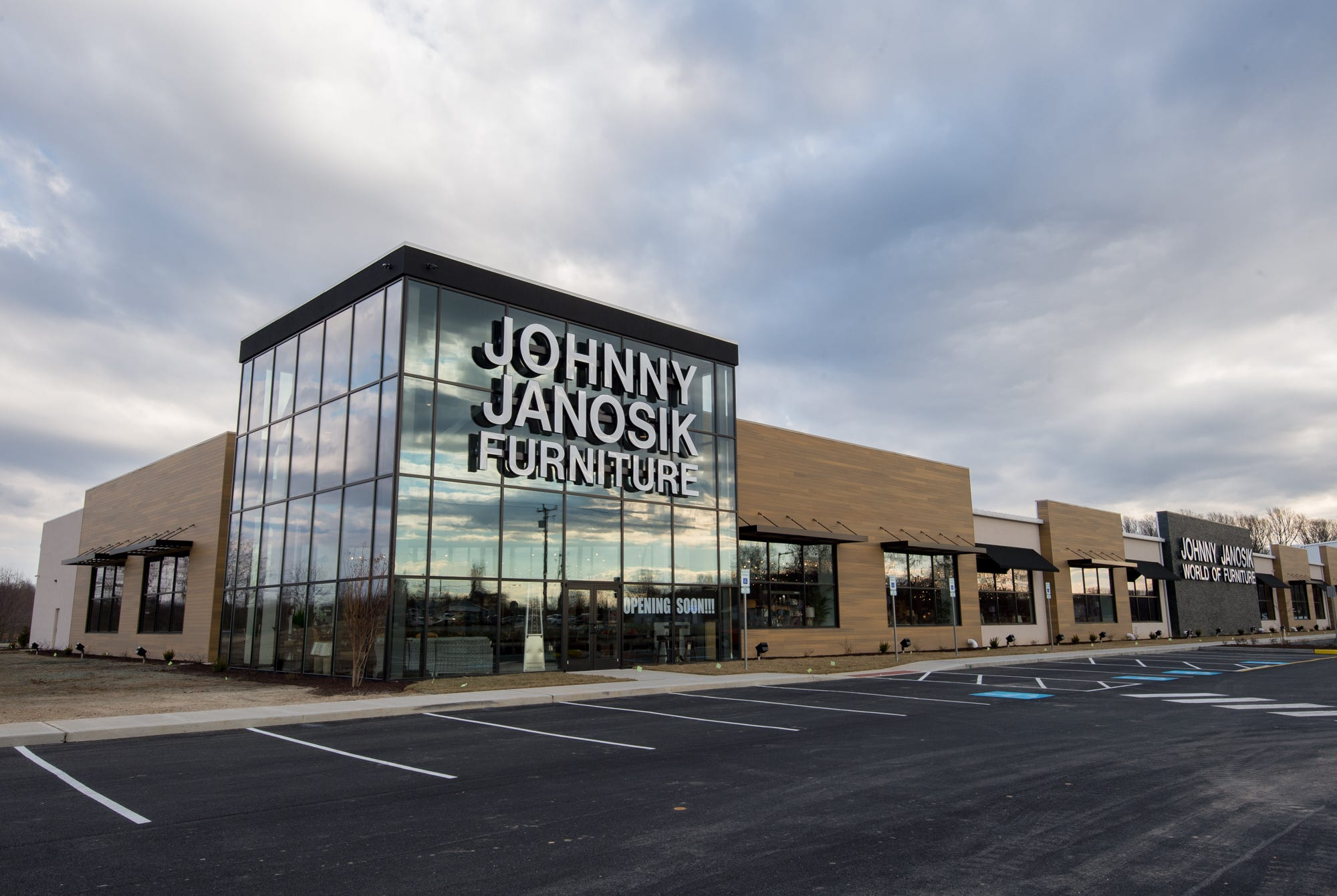 The Johnny Janosik Store In Camden. The Furniture Store Is Opening Its  First Two Stores