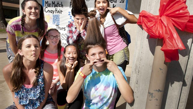 A previous celebration of Red Ribbon week at Golden West High School.