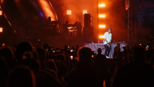Jay-Z performs during Austin City Limits Music Festival