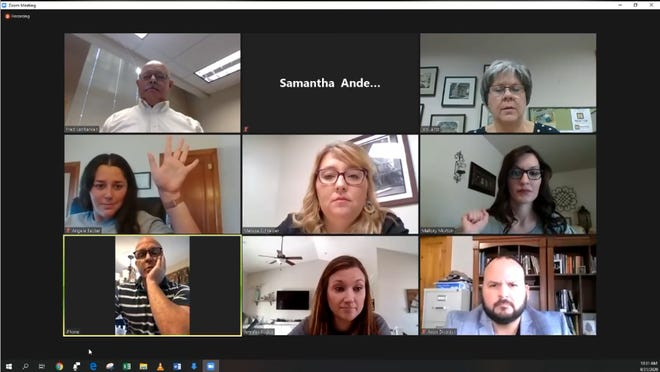 The Newton USD 373 Board of Education met online this week to discuss the mode of operation for schools and made a change to how often that decision will be made.