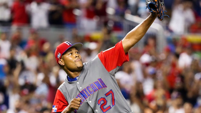 Jeurys Familia is pitching well in the WBC.