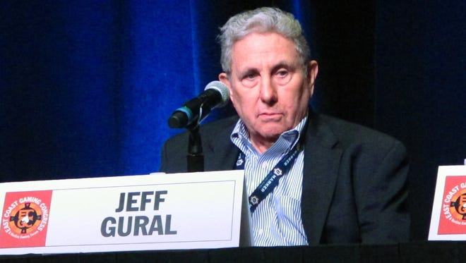 Meadowlands Racetrack operator Jeff Gural at the East Coast Gaming Congress on May 25, 2017.