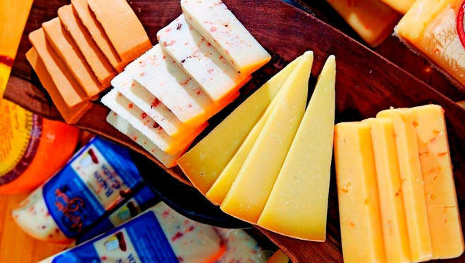 Cheeses will be among the samples event-goers can taste at Winter Smorgasbord, an event by Wisconsin Foodie on Feb. 26 at Potwatomi Hotel & Casino.