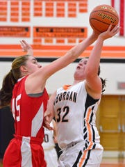 York Suburban hosts Susquehannock for girls' basketball  Tuesday Dec. 15, 2015.  (John A. Pavoncello - The York Dispatch)