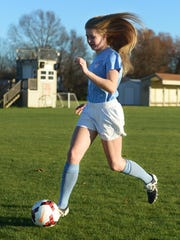 USJ's Addison Dunn had 36 goals and 20 assists this season.