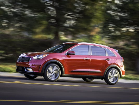 The All New  Kia Niro Hybrid Combines The Capability Of A Crossover With A Targeted Combined Fuel Economy Of  Miles Per Gallon
