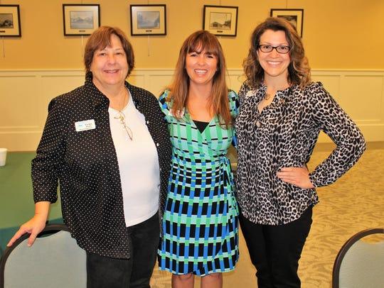 Vickie Penly, Monique Olson and Kelly Chicvara