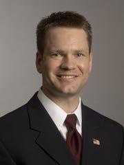Sen Charles Schneider, R-West Des Moines