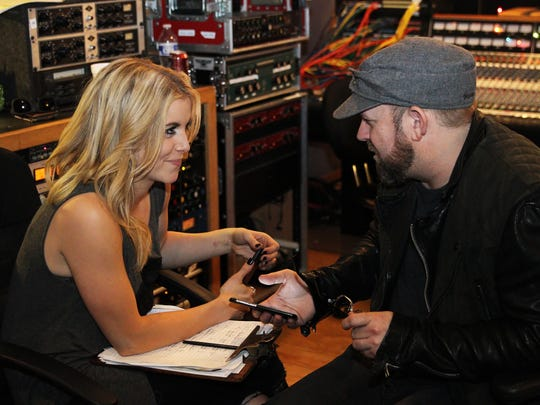 Lindsay Ell and producer Kristian Bush collaborate