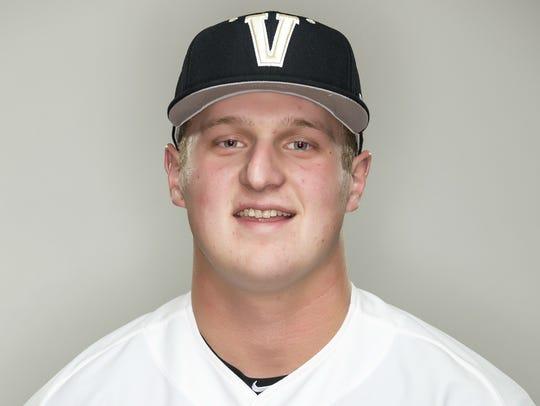 Donny Everett, 19, Vanderbilt pitcher
