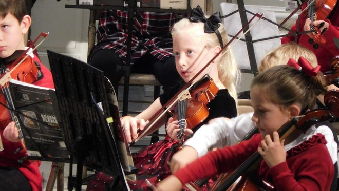 Young musicians receive professional instruction and performance experience with the Tallahassee Homeschool String Orchestra.