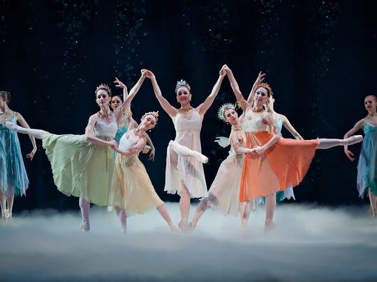 """Dancers from Cincinnati Ballet's production of """"Cinderella"""""""