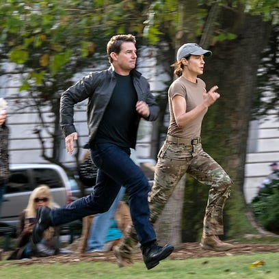 Tom Cruise is Jack Reacher and Cobie Smulders is Susan