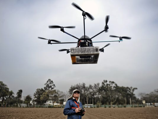 Commercial drone market stirs excitement (and worry)