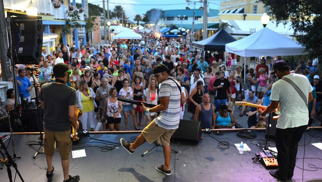 Moska Project returns Saturday to Dancin' in the Streets, the annual summer street party in downtown Stuart.