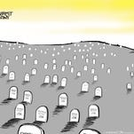 Editorial cartoons: Roseburg shooting