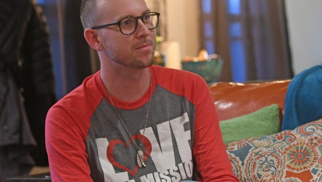 Matthew Sours talks about his role with Love on a Mission, a local support group for LGBTQ youth.
