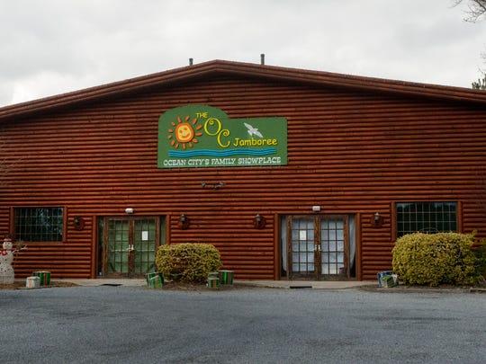The OC Jamboree building in West Ocean City.