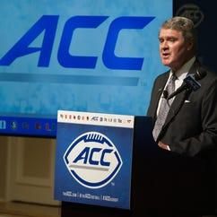 ACC Commissioner John Swofford.