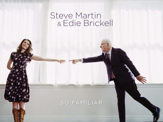 Steve Martin and Edie Brickell, pictured on the cover