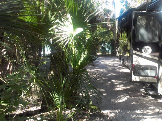 . Fort Desoto Campground in Pinellas County has 238