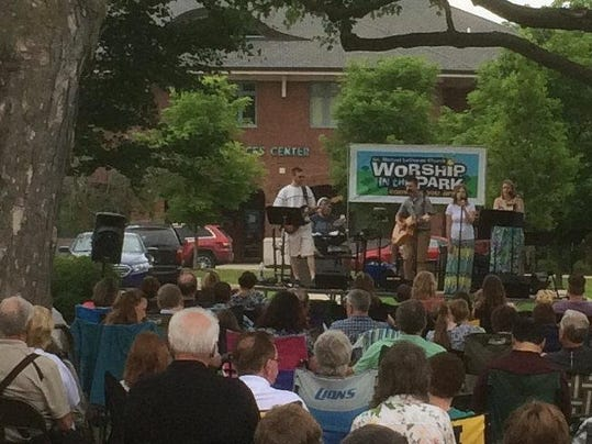 cnt worship in park