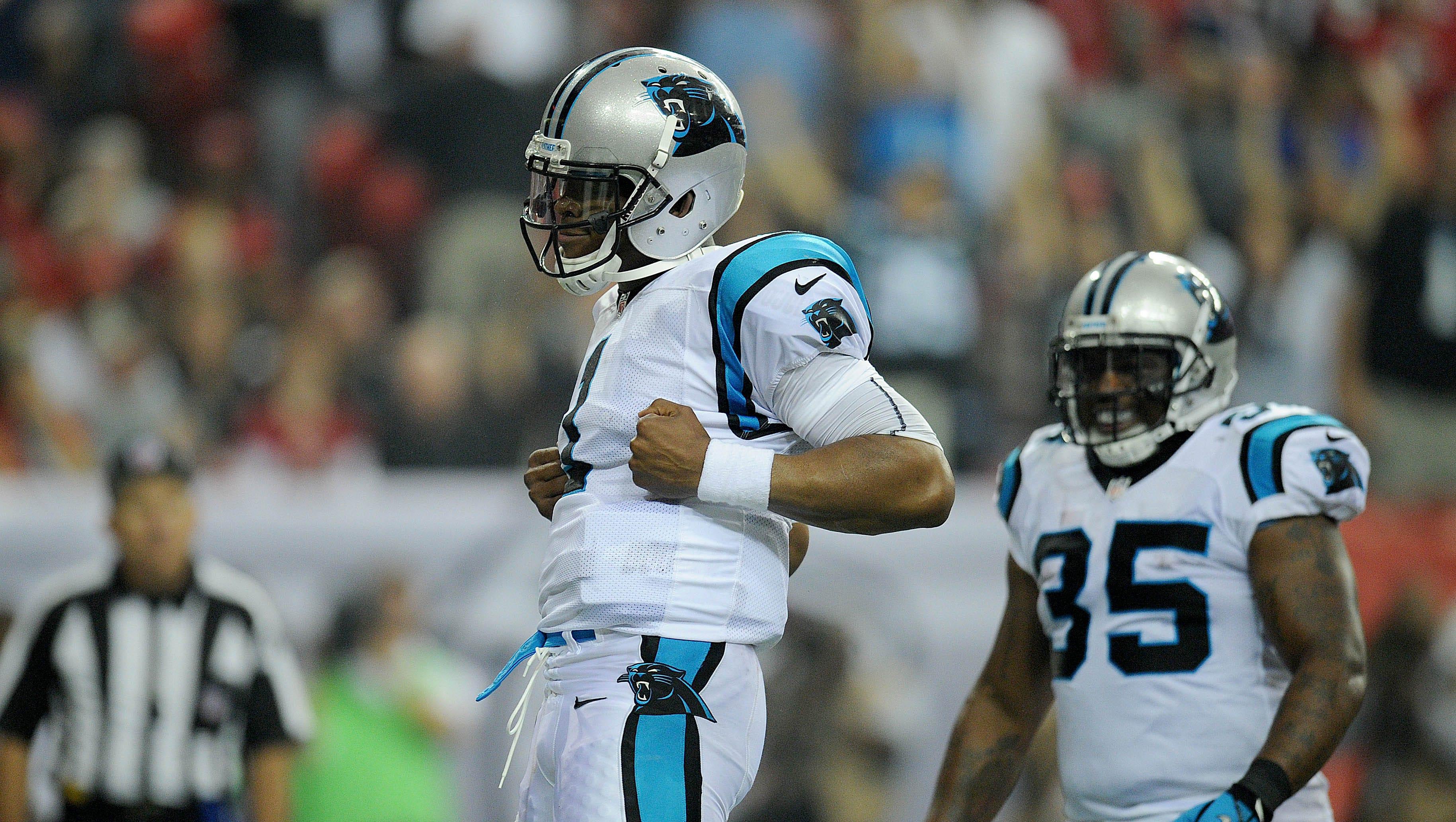 3. Cam Newton, Carolina Panthers