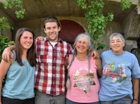 Kate Turcotte (L), Zack Munzer, Marjorie Susman and Marian Pollack