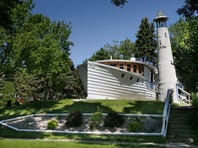 """The """"boat house"""" is on the market at 3138 N. Cambridge Ave. in Milwaukee. The home, built to look like a boat, is a well-known fixture on the east side. It's never actually been in the water."""