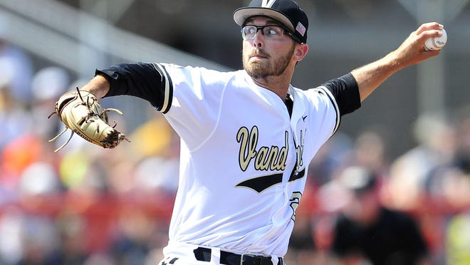 Philip Pfeifer missed last year's College World Series while battling addiction. On Monday, he won the game that sent Vandy back.