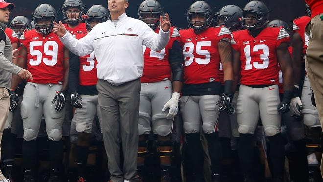 Ohio State Buckeyes coach Urban Meyer has won three national championships, including the first College Football Playoff title two years ago. No current coach who has at least 10 seasons of experience has a better winning percentage than Meyer's .854.