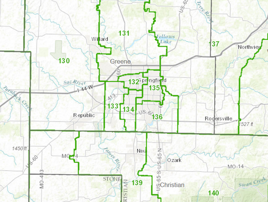Current Springfield House Districts