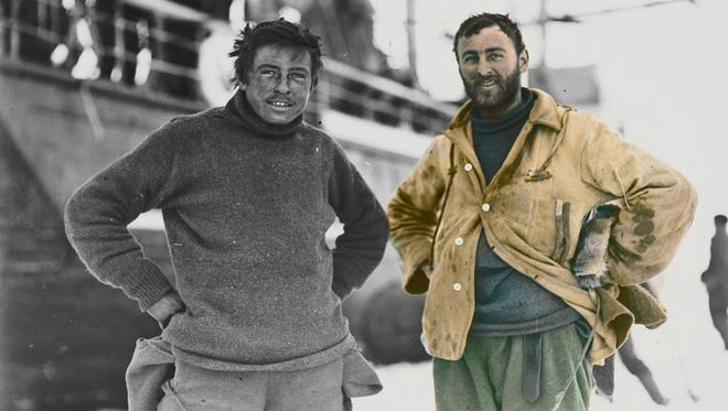 Manitowoc-born Charles Laseron, right, is among 10 historical figures being highlighted in an ongoing social media campaign led by News Corp Australia for their roles in the Australian military during World War I.
