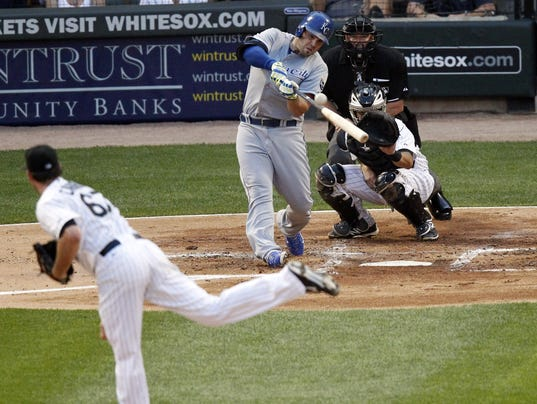 Royals White Sox Baseball