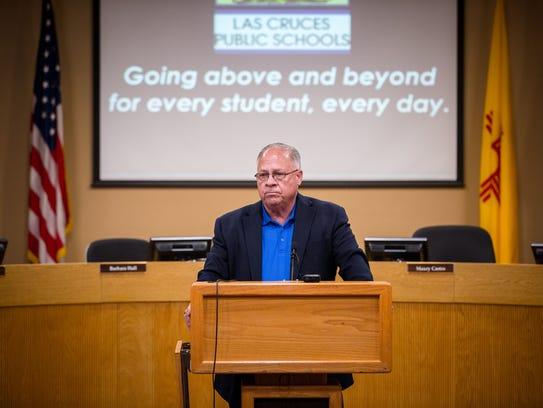 Superintendent of Las Cruces Public Schools Stan Rounds