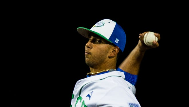 Gulf Coast graduate Mario Leon, a redshirt junior for the FGCU baseball team, is one of the Eagles' most dependable starters.