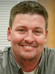 Snyder football coach Cory Mandrell