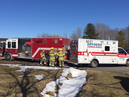 First responders from Dryden responded to a serioud