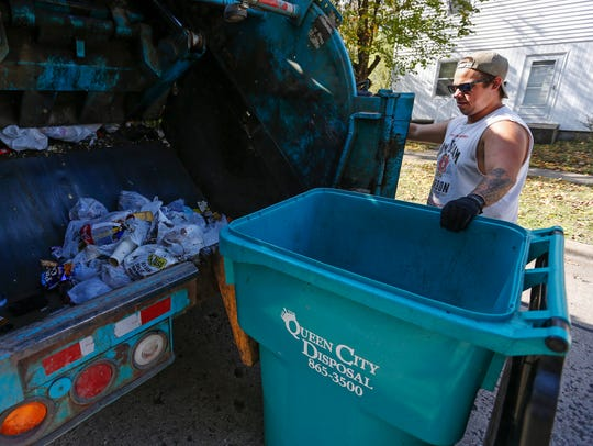 Under the city's trash-hauling proposal,  residents would essentially be powerless to make a change.