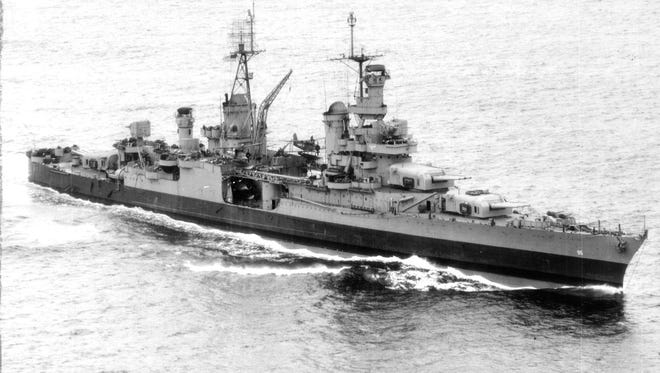 When the cruiser USS Indianapolis was sunk July 30, 1945, no one knew about it for four days. Hundreds of sailors died in the shark-infested waters until a Navy PBY search and rescue plane discovered the bodies. An announcement about the discovery of the ship's wreckage in the Philippine Sea was made Saturday, Aug. 19, 2017.